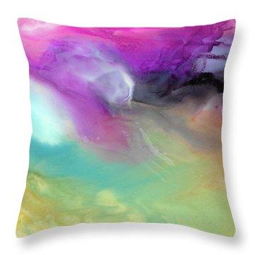Wings Of Flight  Throw Pillow