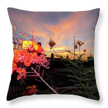 Wings Of Paradise Throw Pillow