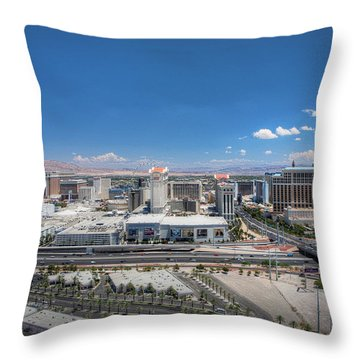 Throw Pillow featuring the photograph Winner Winner Chicken Dinner - Day by Ryan Smith
