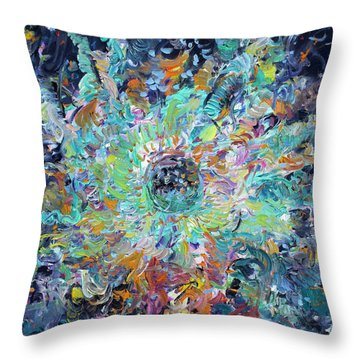Throw Pillow featuring the painting Winners And Losers by Fabrizio Cassetta