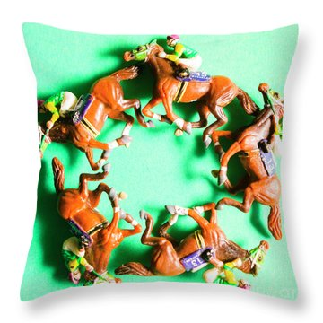 Winners Circle Throw Pillow