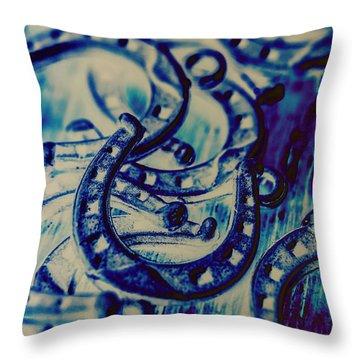 Horse Artwork Throw Pillows