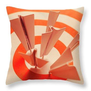 Winning Strategy Throw Pillow