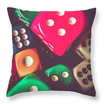 Winning Wager Throw Pillow