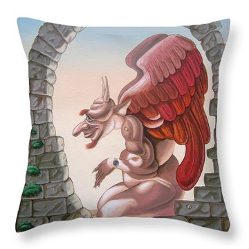 Winston Churchill, Throw Pillow