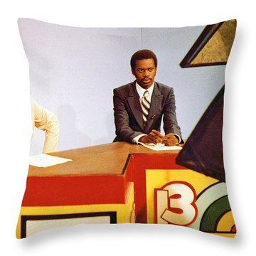 Winston Munnings And Phil Smith Tv 13 News Throw Pillow