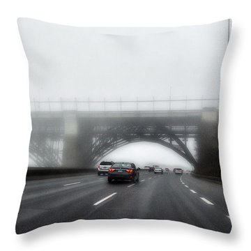 Throw Pillow featuring the photograph Winter-2 by Joseph Amaral