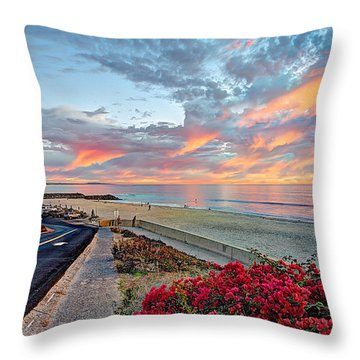 Winter At Tamarack Throw Pillow