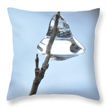 Throw Pillow featuring the photograph Christmas Bells by Glenn Gordon