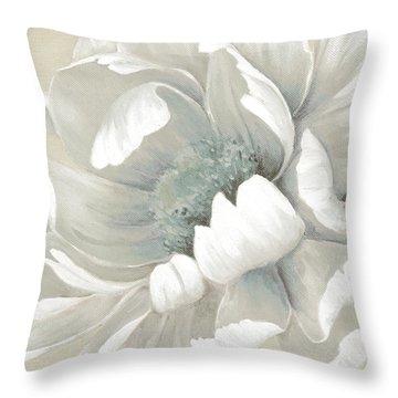 Winter Bloom 1 Throw Pillow