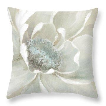Winter Bloom 2 Throw Pillow