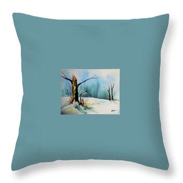 December River Throw Pillow