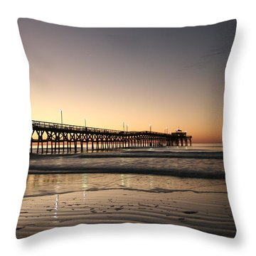 Winter Dawn Throw Pillow