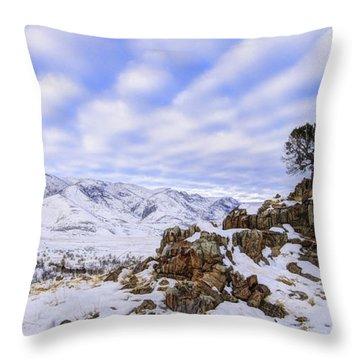 Utah Juniper Throw Pillows