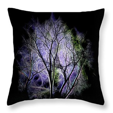 Winter Dream Throw Pillow