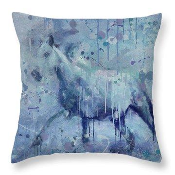 Winter Flurry Throw Pillow