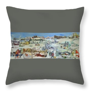 Winter Goose - Sold Throw Pillow