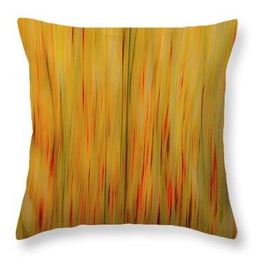 Winter Grasses #1 Throw Pillow