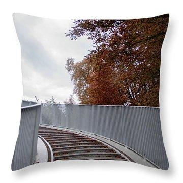 Winter Is Around The Corner Throw Pillow by Ana Mireles
