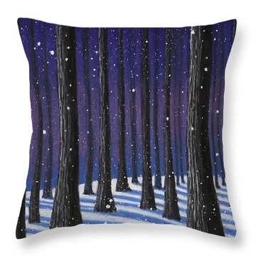 Winter Is Coming 01 Throw Pillow