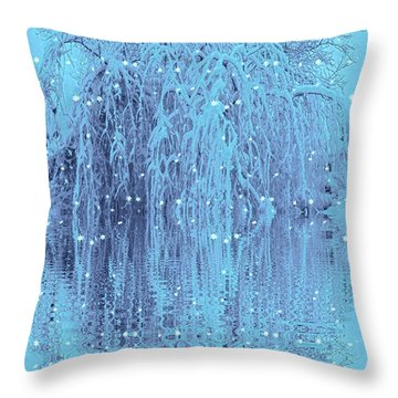 Winter Is Pretty Throw Pillow
