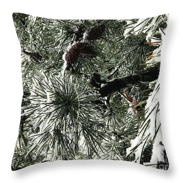 Winter Land  Throw Pillow