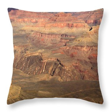 Winter Light In Grand Canyon Throw Pillow