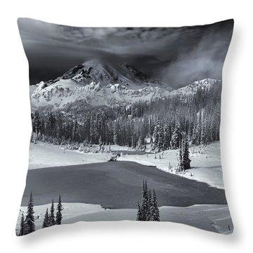 Winter Majestic Throw Pillow