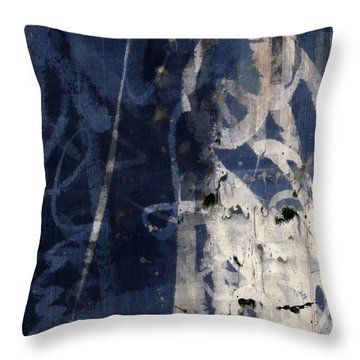 Winter Nights Series Four Of Six Throw Pillow