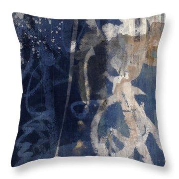 Winter Nights Series Three Of Six Throw Pillow