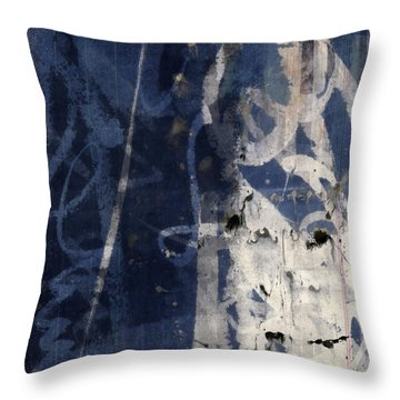 Winter Nights Series Two Of Six Throw Pillow