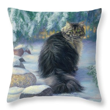 Winter Place Throw Pillow
