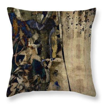 Winter Rains Series Five Of Six Throw Pillow