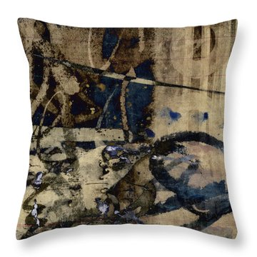 Winter Rains Series One Of Six Throw Pillow