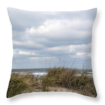 Throw Pillow featuring the photograph Winter Sky by Gregg Southard