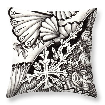 Winter Spring Summer 'n Fall Throw Pillow