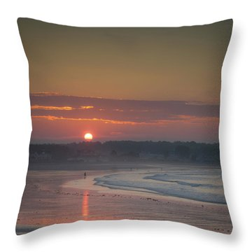 Winter Sunrise - Kennebunk Throw Pillow