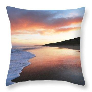 Winter Sunrise Throw Pillow by Roy McPeak