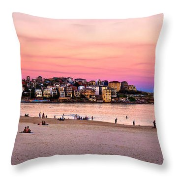 Bondi Beach Throw Pillows