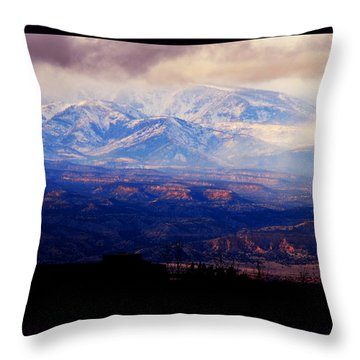 Winter Vista Throw Pillow by Susanne Still