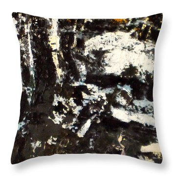 Winter Throw Pillow by Vladimir Vlahovic