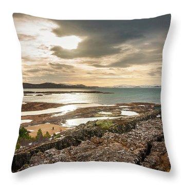 Winter Warmth Throw Pillow