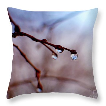 Winter Whimsy Throw Pillow