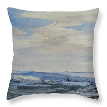 Winter Wilds Throw Pillow