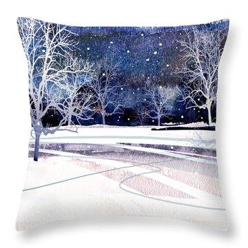 Winter Wonderland Throw Pillow by Paul Sachtleben