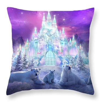 Castle Throw Pillows