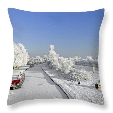 Winter Wonderland Throw Pillow by Rod Johnson