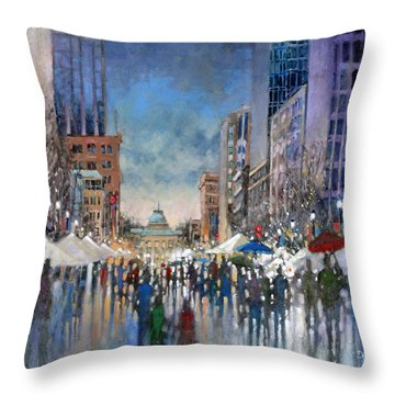 Winterfest 2014 Throw Pillow