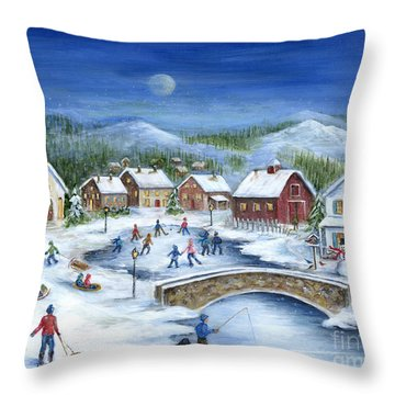 Winterfest Throw Pillow