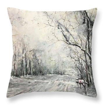 Dee Street Series Winter Wonderland Throw Pillow